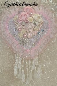 Shabby Chic Heart Ornament