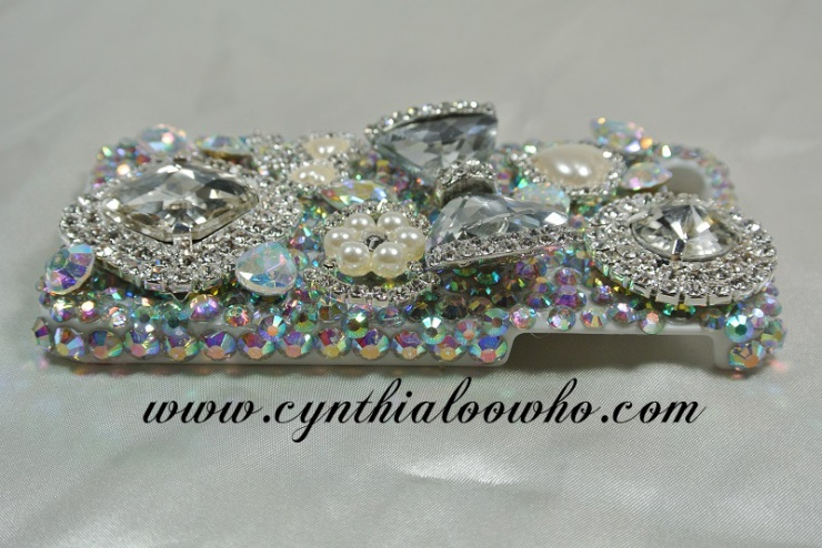 Iphone 5 3D Bling case